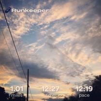 Run streak - day 8