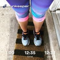 Run streak - day 9