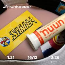 Run streak - day 18