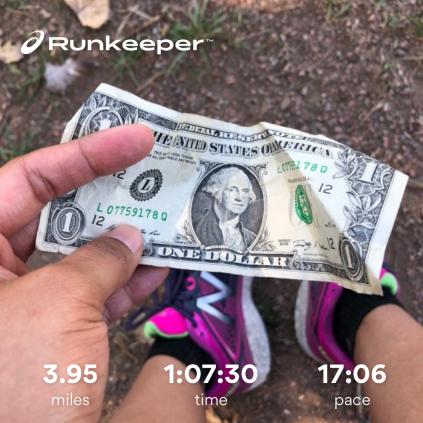 Run streak - day 21